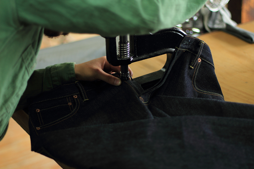 Jeans making