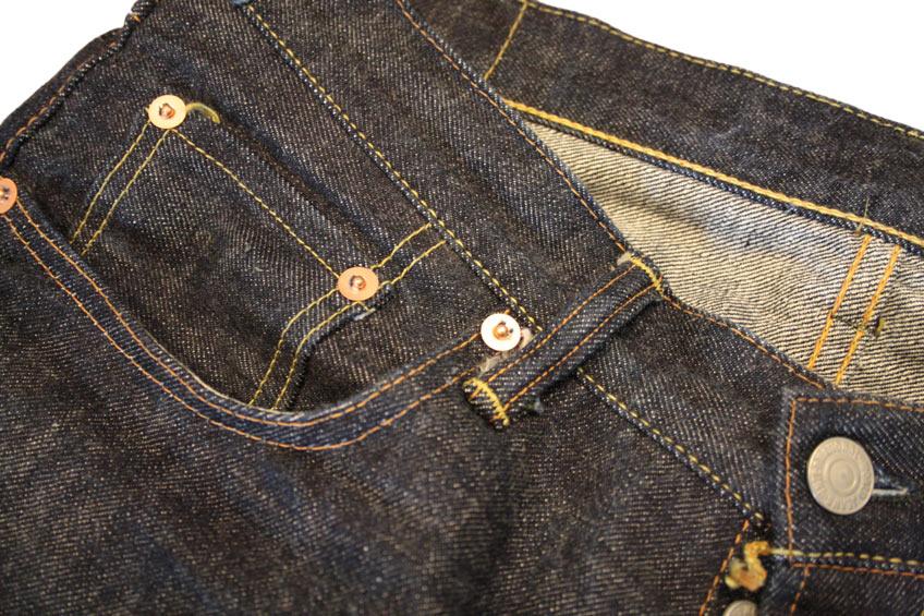 TCB 50's hardware + stitching