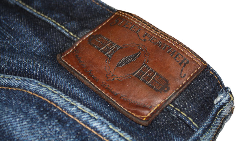 Steel Feather Jeans patch 10 months