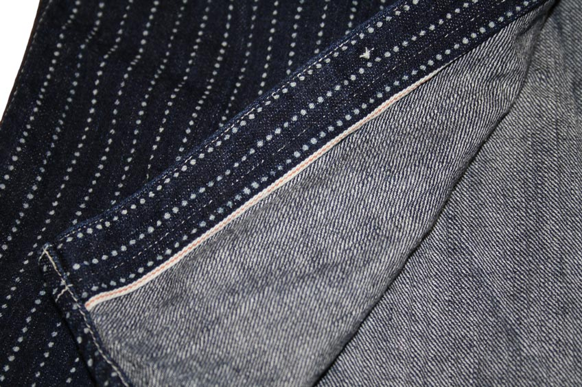 Flat Head wabash selvedge