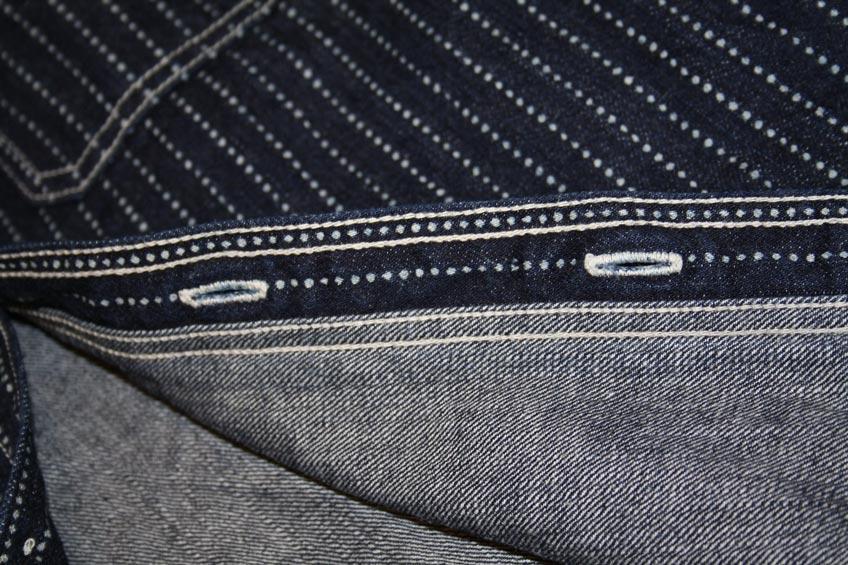 Flat Head wabash stitching