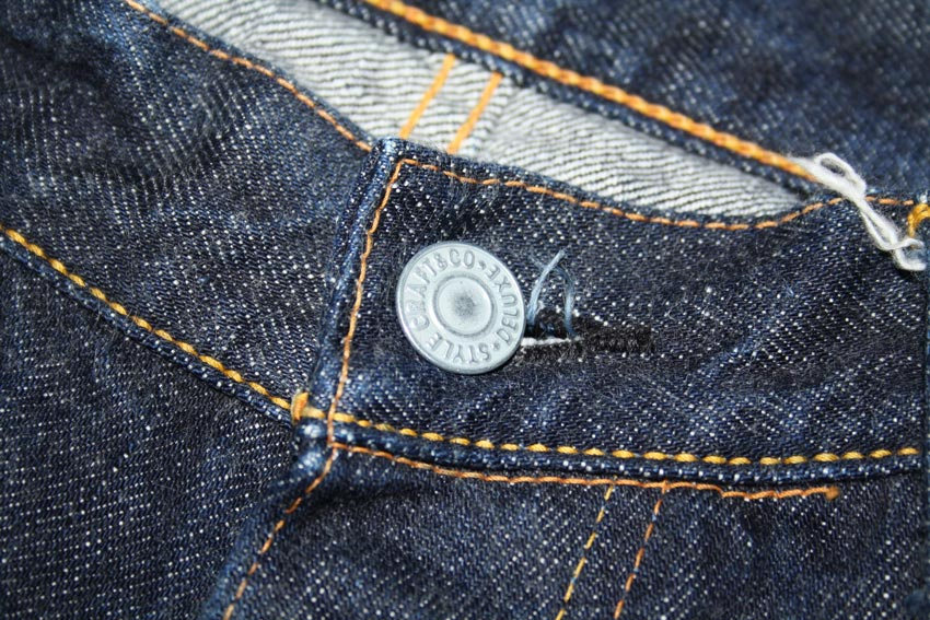 Evisu 2001 No.1 top button