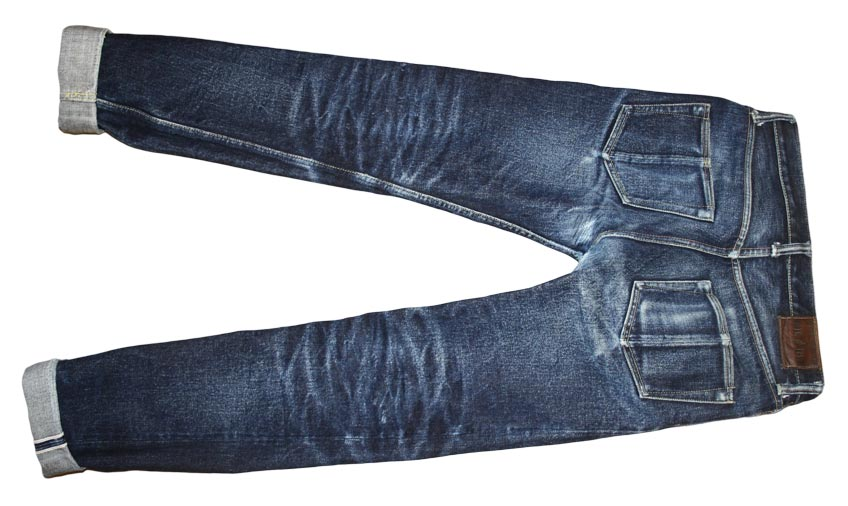 Steel Feather Jeans SF0121 back