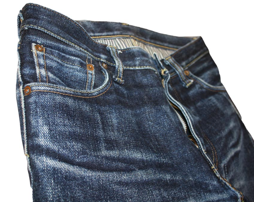 Steel Feather Jeans SF0121 coinpocket fade