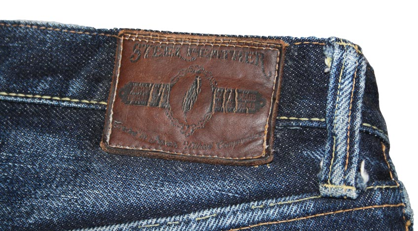 Steel Feather Jeans SF0121 patch