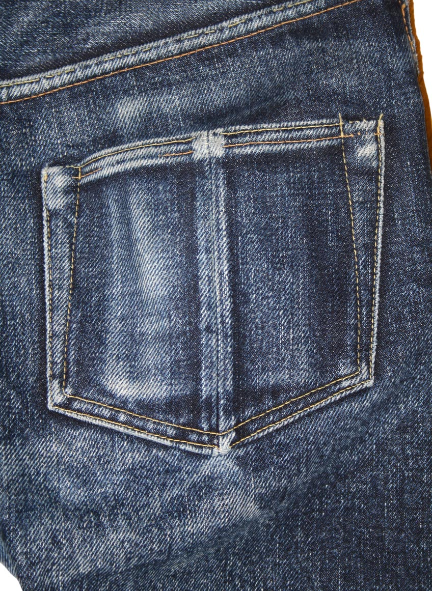 Steel Feather Jeans SF0121 right backpocket