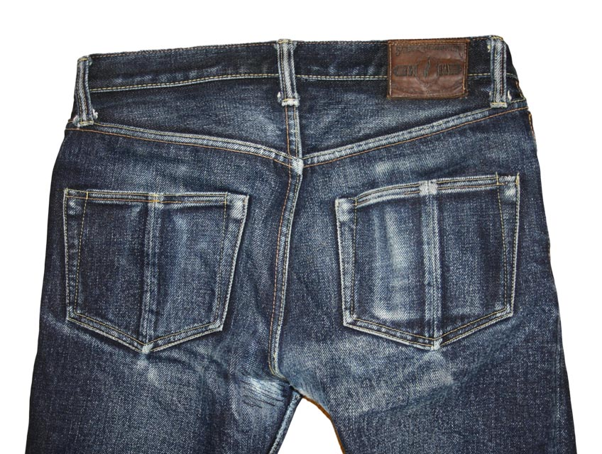 Steel Feather Jeans SF0121 topblock back