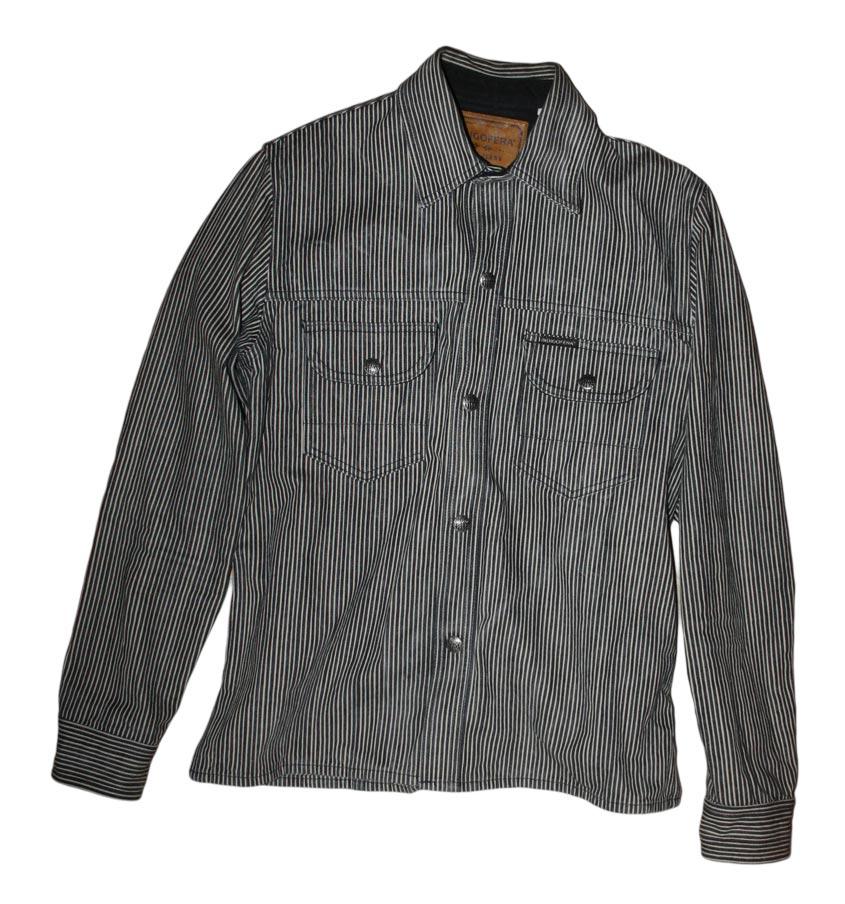 Indigofera fargo shirt front