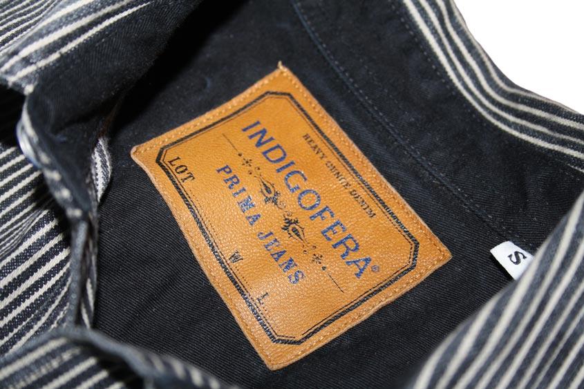 Indigofera fargo shirt patch