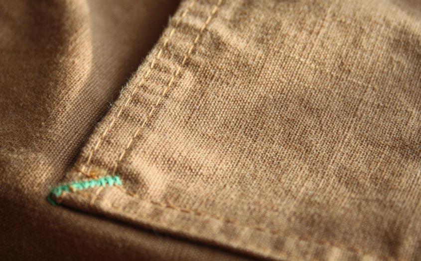 TCB chore coat fabric