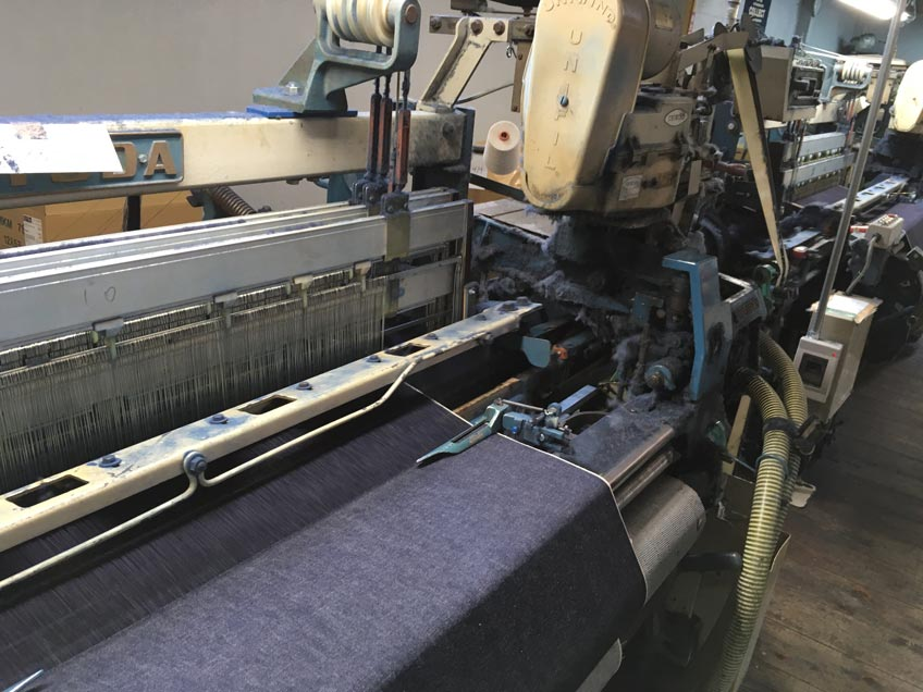 Toyoda shuttle loom