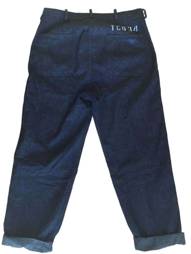 TCB Seaman trousers back