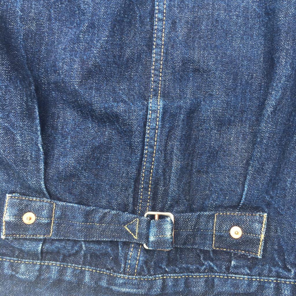 TCB 30's jacket cinchback