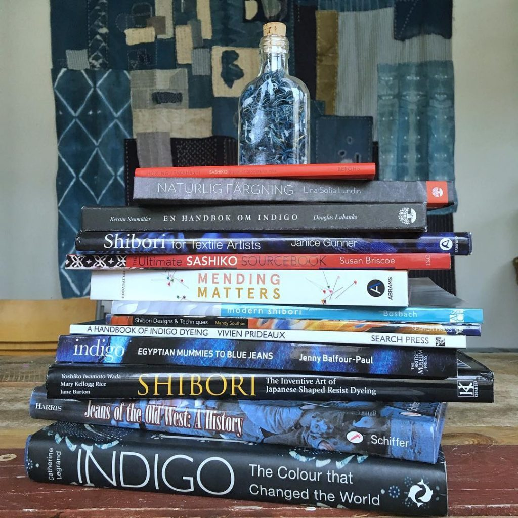 Books about indigo