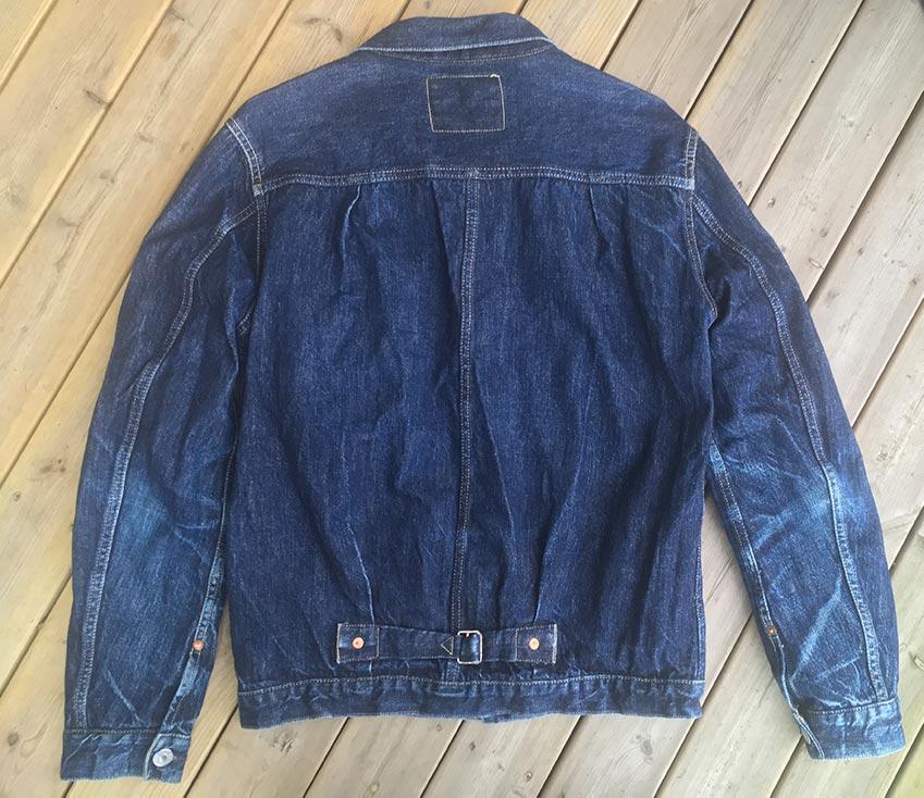 tcb 30's jacket back