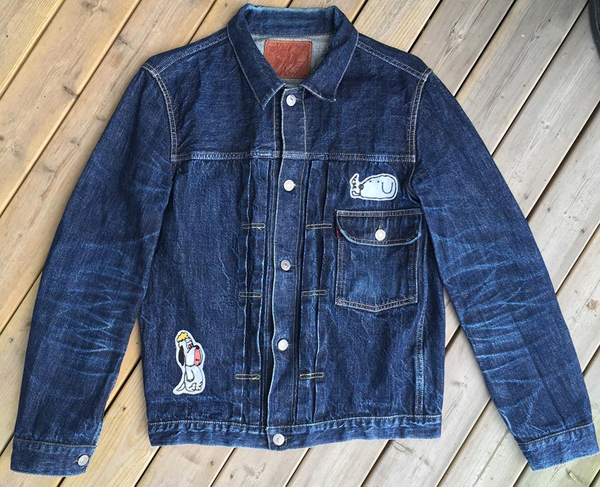 tcb 30's jacket front