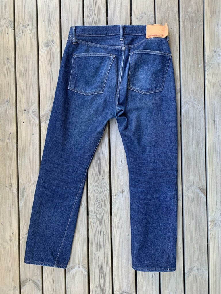 Resolute 710 back 3 months of wear