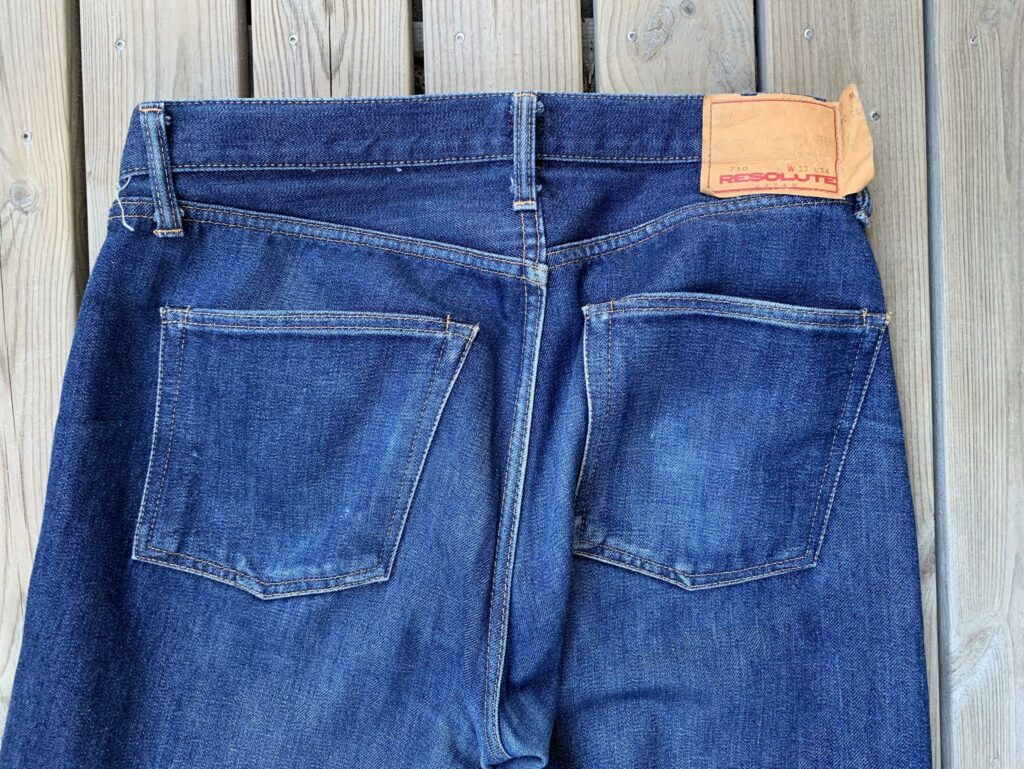 Resolute 710 backpockets 3 months of wear