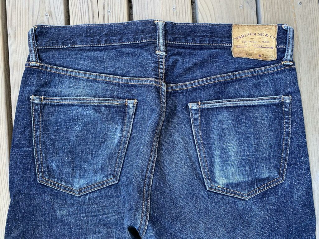 Warehouse 800 C/L backpockets 1 year
