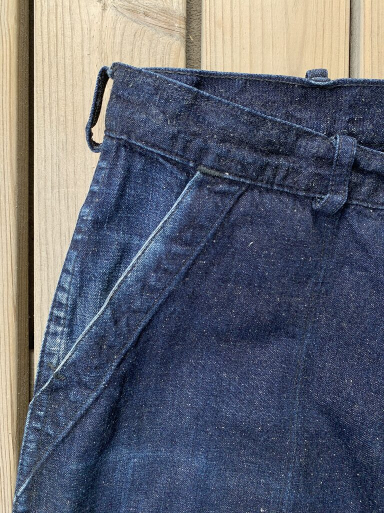 TCB Seamens trousers pocket 6 months of wear