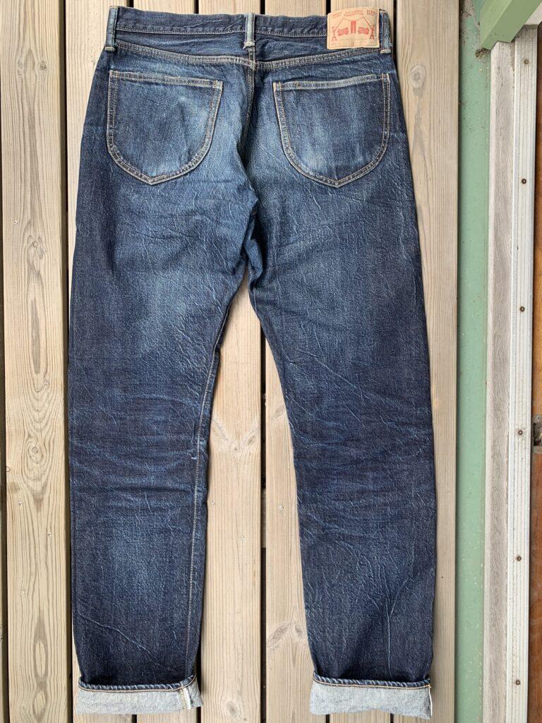 Indigo Veins GBG001 back 1 year of wear