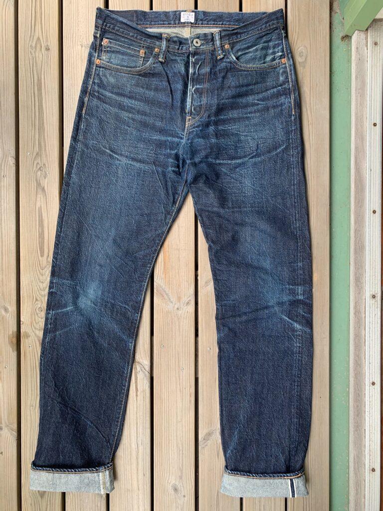 Indigo Veins GBG001 front 1 year of wear
