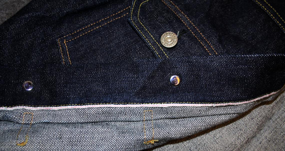 Close up of jacket