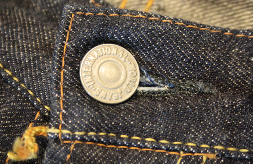 TCB 50's top button