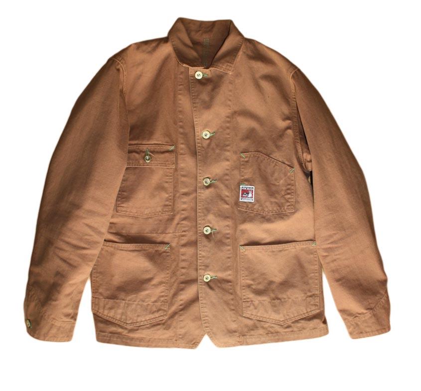 TCB chore coat front