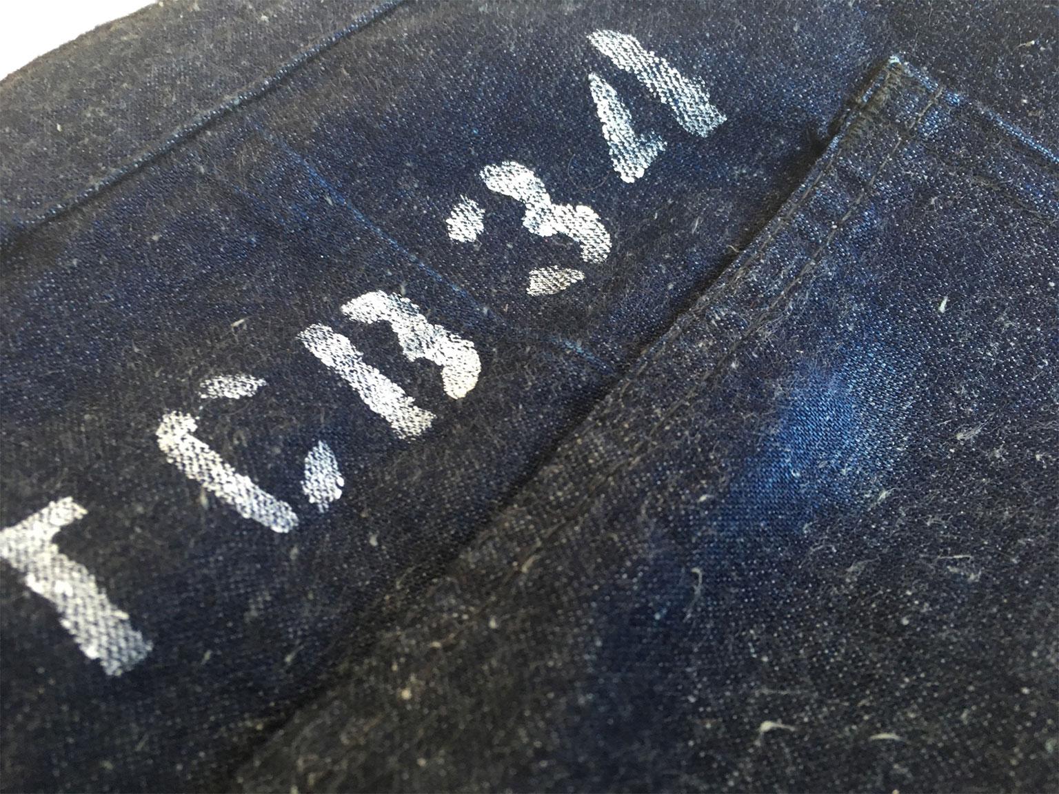 TCB Seaman trousers paint